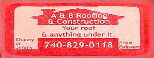 A & B Roofing title=