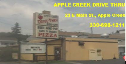 Apple Creek Drive Thru title=